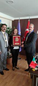 28.05.2021.g POSETA ISGEM RAZVOJNO INOVACIONOM CENTRU I MEDIWAWE U TURSKOJ,VAN